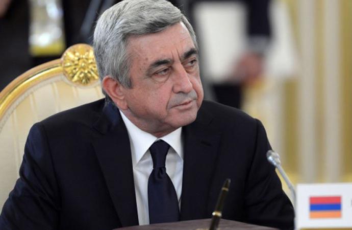 Rusya, Sarkisyan'ın arkasında duramadı