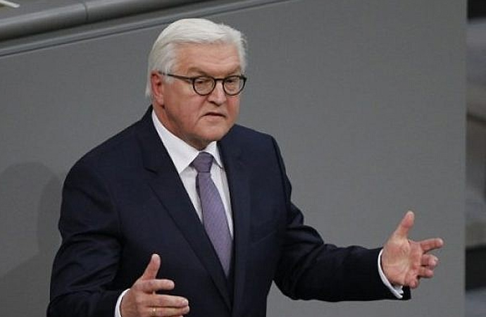 Alman Cumhurbaşkanı Alevilerle bir araya geldi