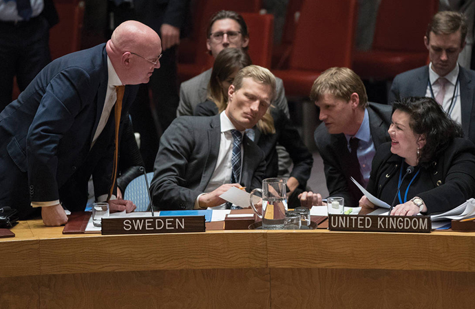Rusya ve İngiltere BM'de çekişmeye devam ediyor