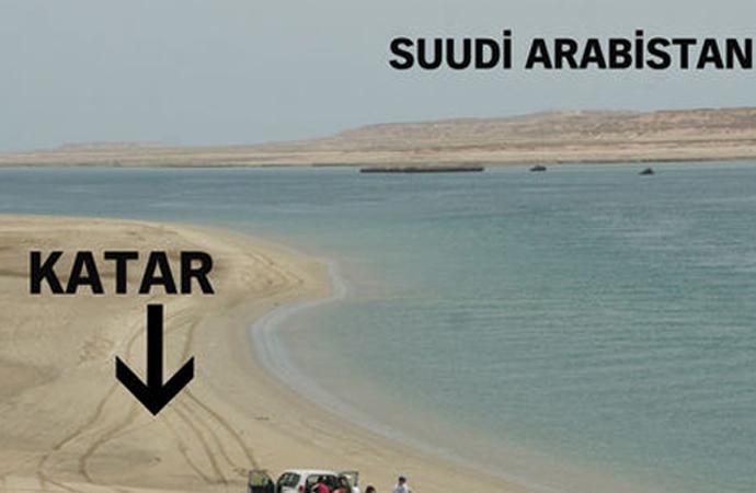 Suudiler'den Katar sınırına 'çılgın kanal' projesi