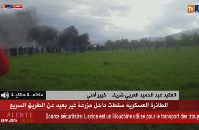 Cezayir'de ve Sırbistan'da askeri uçaklar düştü