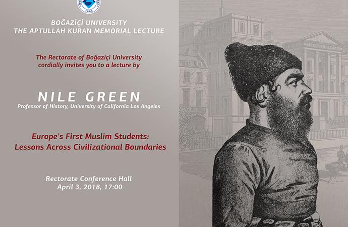 Avrupa'nın ilk Müslüman öğrencileri Boğaziçi Üniversitesi'nde anlatılacak