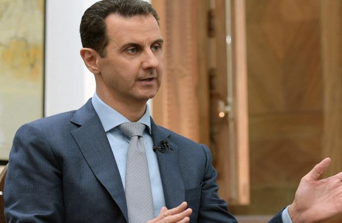 Esad, Rus televizyonuna konuştu: Tek sorun SDG kaldı
