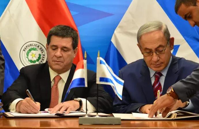 Paraguay da İsrail'le anlaştı