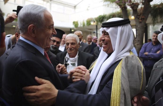 İsrail'e Açıktan Kınama Gizliden İlişki