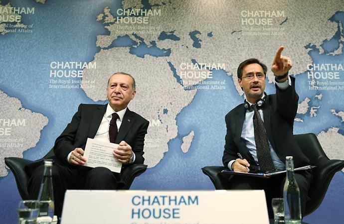 Erdoğan, Chatham House'a konuk oldu