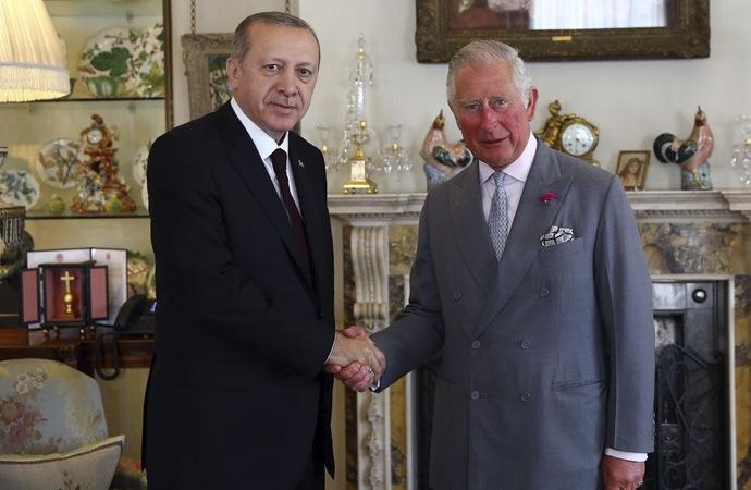 Erdoğan, Prens Charles ile görüştü