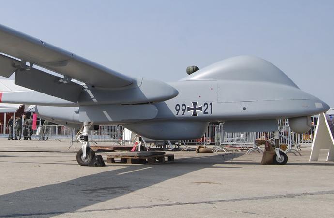 Alman ordusu, İsrail'den insansız hava aracı alıyor