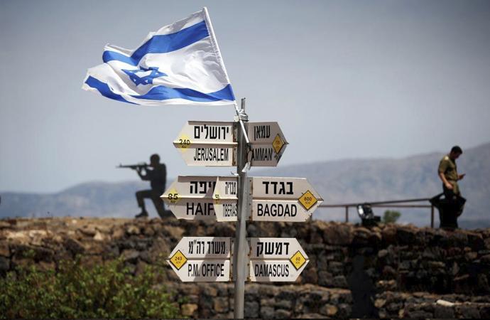 Golan tepeleri için Washington'da gizli pazarlık