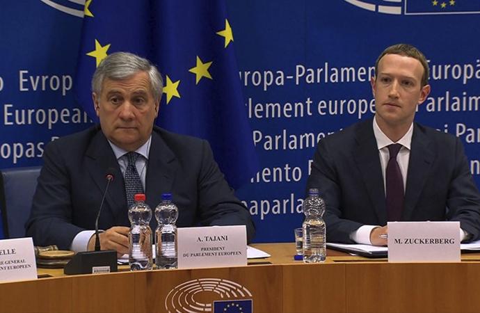 Zuckerberg bu sefer Avrupa'ya ifade verdi