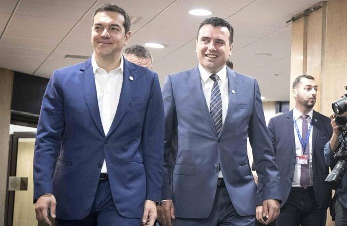 Yunanistan ile anlaşan Makedonya ismini değiştirecek