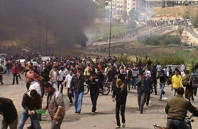 Ürdün ve İsrail sınırında 150 bin kişi
