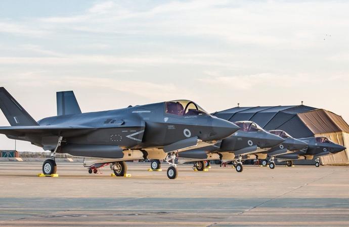 İngiltere'ye de F-35