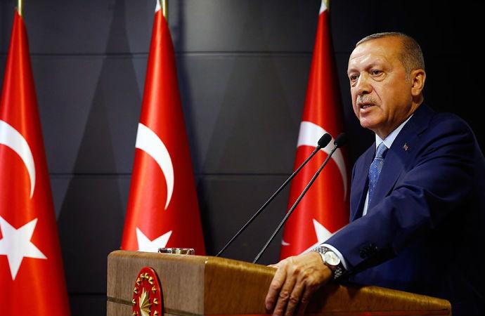 Erdoğan: 'Demokrasi Bayramımıza katılanlara teşekkür ediyorum'