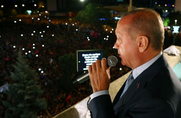 """Erdoğan: """"Bu seçimin galibi demokrasidir"""""""
