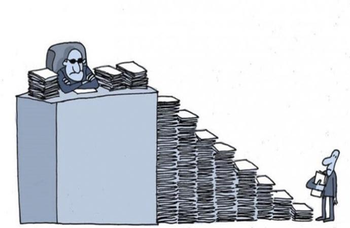 Bürokrasiyi azaltma çalışmaları başladı