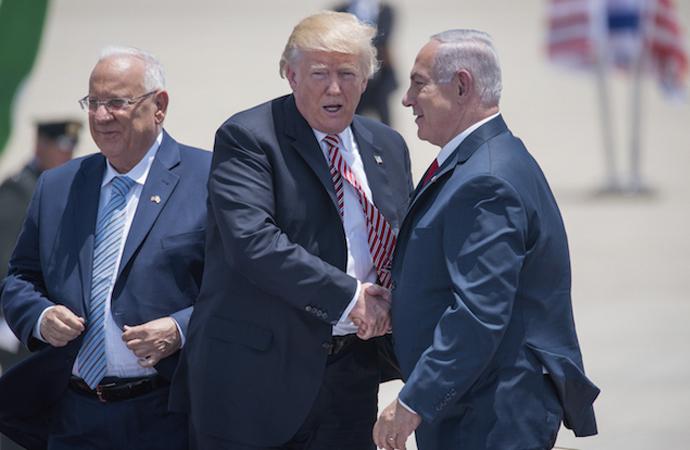 Filistin'e karşı ABD-İsrail ittifakı