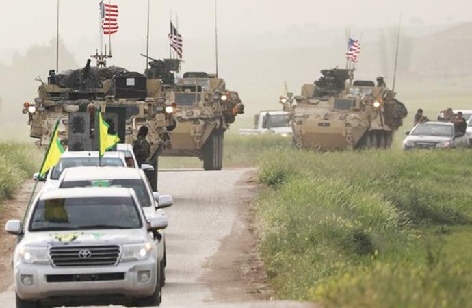 PKK/YPG'ye Amerikan yardımı devam ediyor