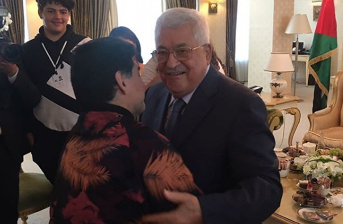 Maradona: Kalben Filistinliyim