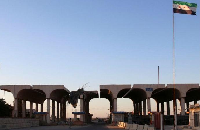 Suriye güçleri Ürdün sınırında