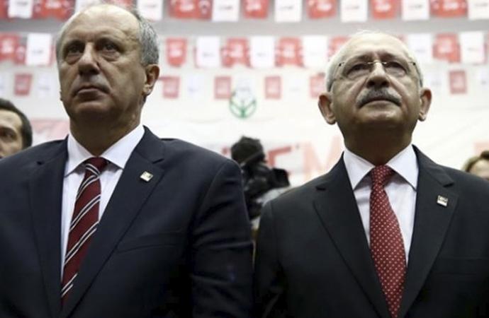 """Kılıçdaroğlu, """"İnce'yi partinin başına getirmek isteyen derin devlet!"""" dedi iddiası"""