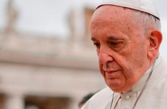 Papa'dan 'utanç ve hüzün' açıklaması