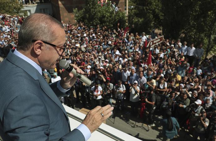 Erdoğan: 'Güçlü olmak zorundayız'