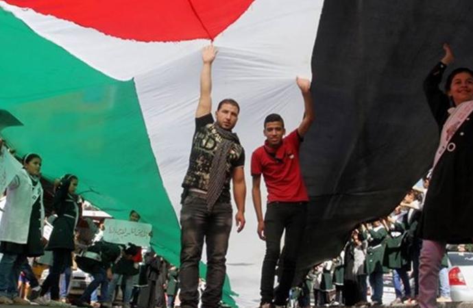 Filistinli 9 gruptan ortak bildiri