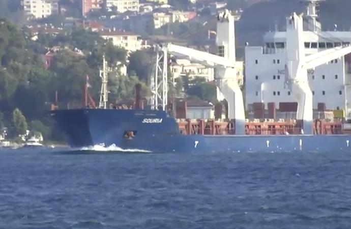 6 yıl sonraBoğaz'danilk Suriye gemisi geçti
