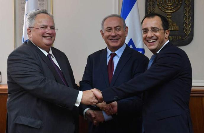 İsrail, Yunanistan ve Güney Kıbrıs ön anlaşma yaptı