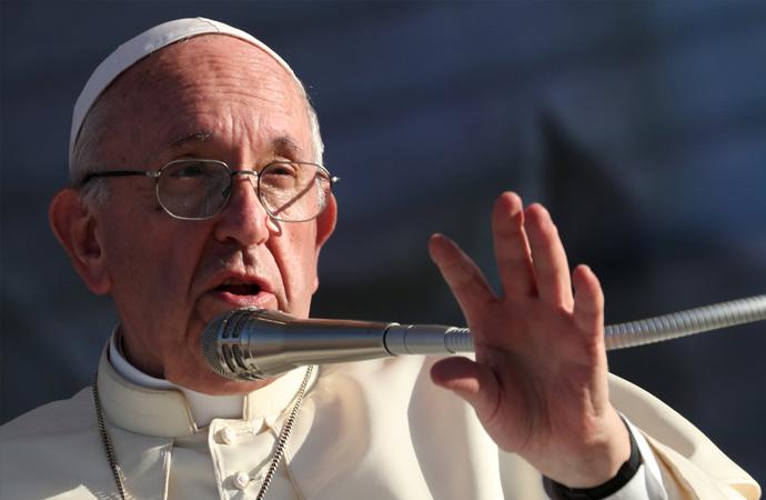 Papa'dan Mafyaya 'tövbe edin' çağrısı
