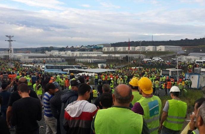 İlginç refleksler ve 3. Havalimanı işçilerinin eylemi