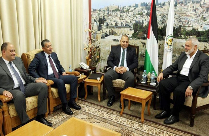 Mısır istihbaratı heyeti Gazze'de Hamas ile görüştü 