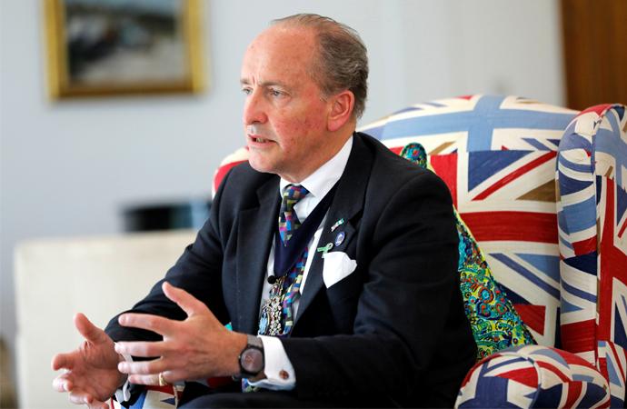 City of London Başkanı Charles Bowman Türkiye'de