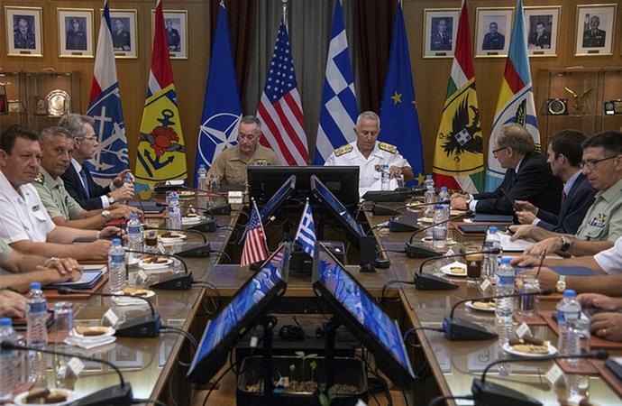 Amerika, Ege ve Akdeniz'e yerleşiyor!