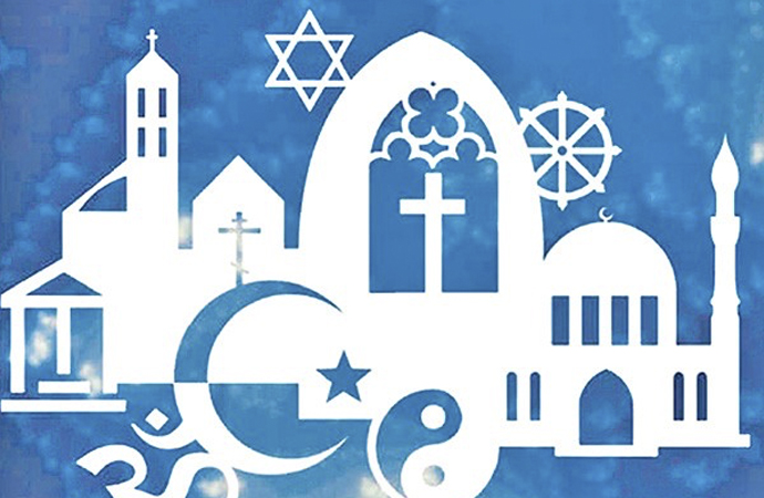 Bütün dinlere eşit mesafede olmak!