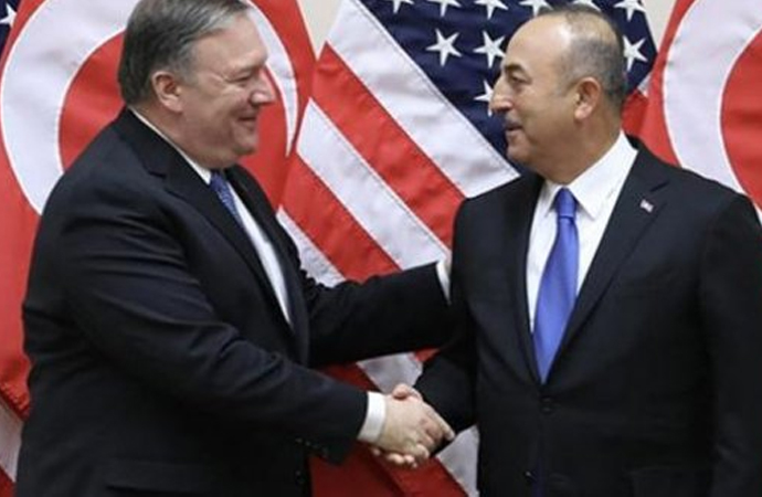İki Bakan, İdlib ve Brunson'ı görüştü