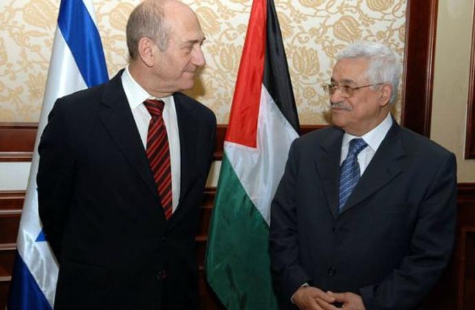 Ehud Olmert'ten Mahmud Abbas'a övgü