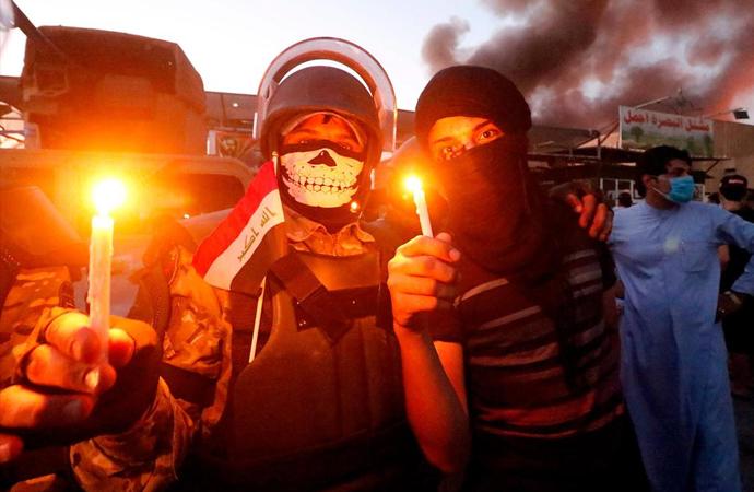 Irak'ın Basra kentinde olaylar tırmanıyor