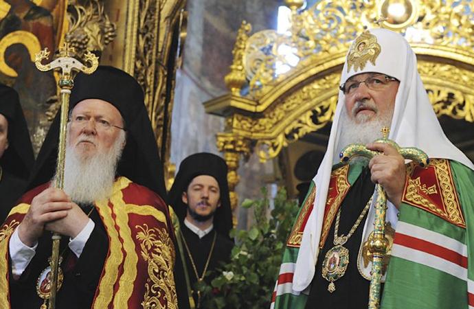 Ortodoks kiliseler birbirine girdi