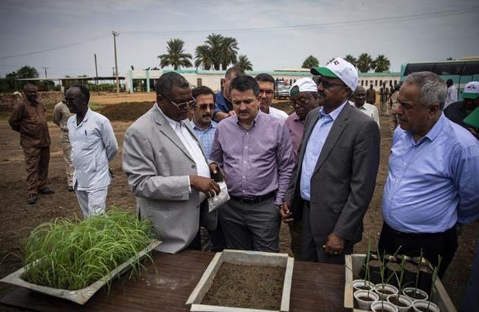 Sudan ile ilişkiler gelişiyor