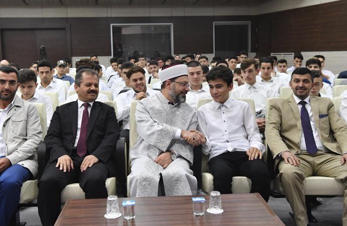 Diyanet İşleri Başkanı Erbaş: İslam, en büyük nimettir
