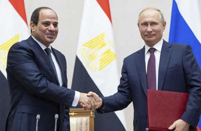 Mısır ve Rusya arasında kapsamlı ortaklık anlaşması