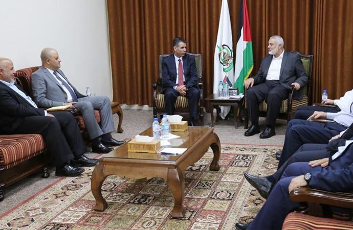 Mısır Güvenlik Heyeti Gazze'de