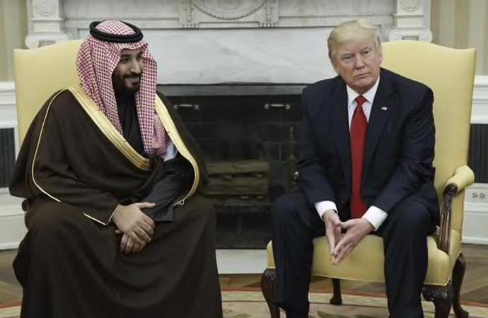 Trump'a Suudi Arabistan ile 'suç ortaklığı' suçlaması