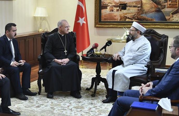 Vatikan Büyükelçisinden Diyanet'e ziyaret