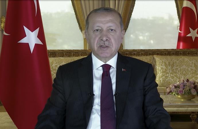 """Erdoğan'dan """"Muasır medeniyet seviyesinin üzeri"""" vurgusu"""