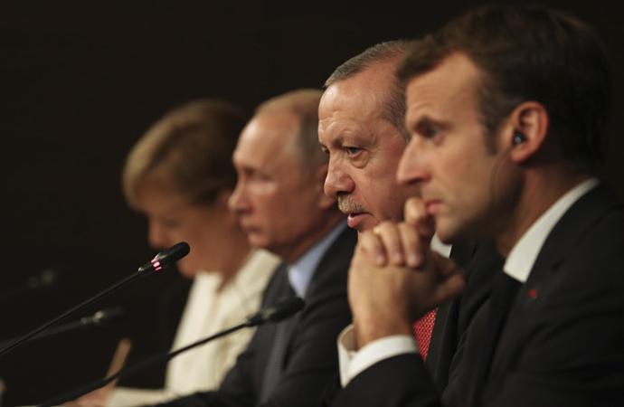 Ortak Bildiri'de Suriye için 'Siyasi çözüm' çağrısı