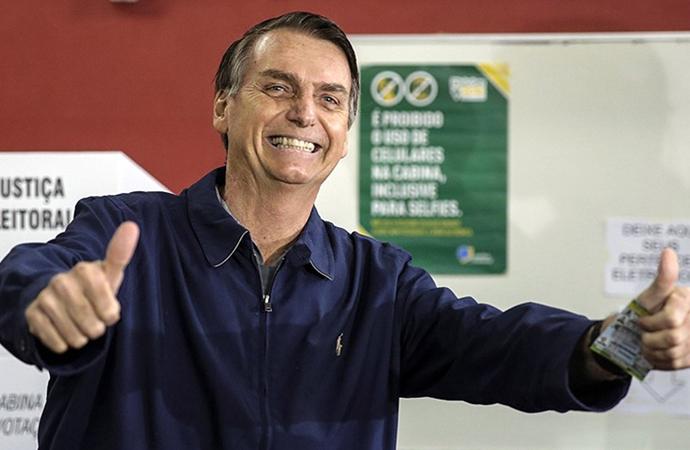 Brezilya'da da Trump kazandı!