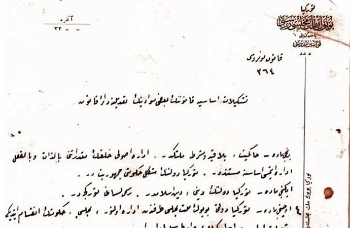Cumhuriyet'in ilanını resmileştiren belge